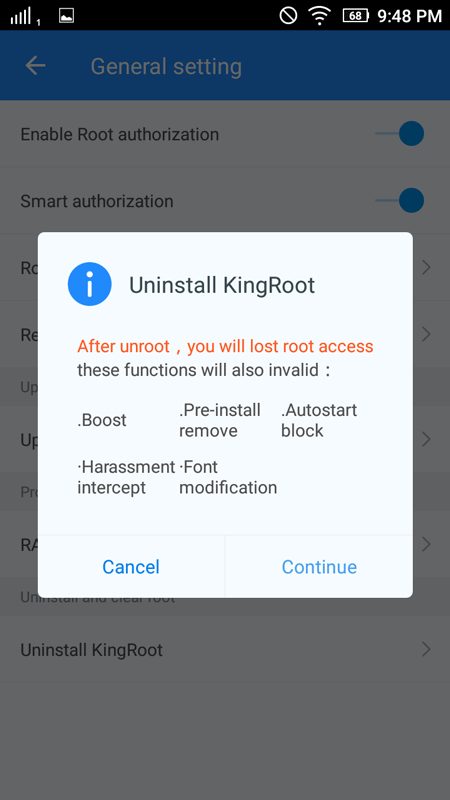 Unrooting Le 1S