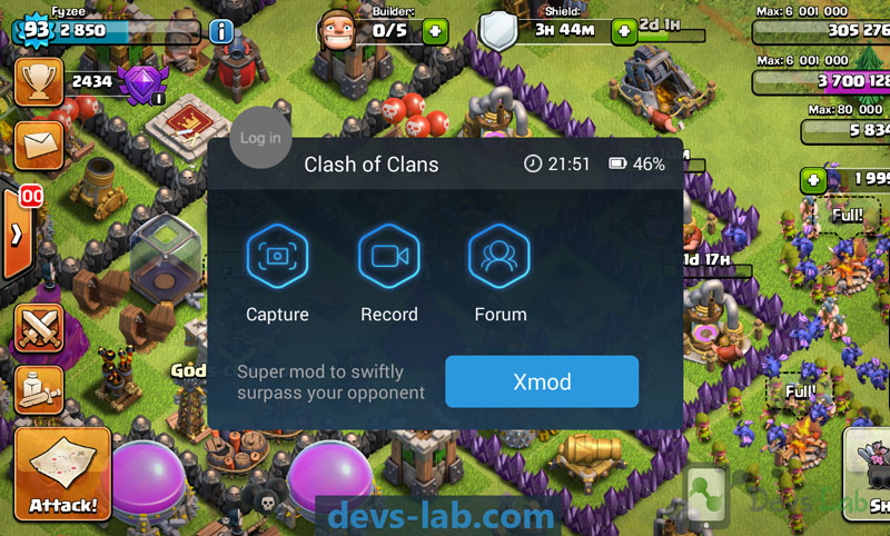 XMOD Clash of clan