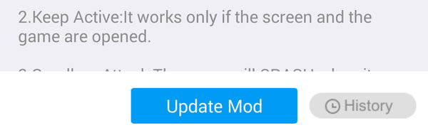 XMOD Mod update error fix