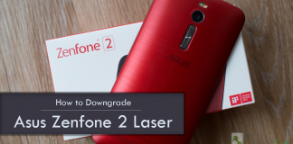 How to downgrade Asus Zenfone 2 Laser