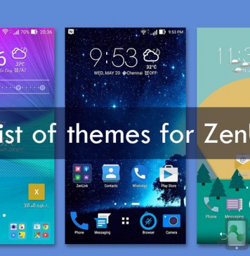 List of all themes for Asus Zenfone ZenUI