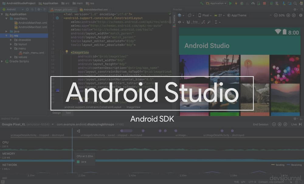 Android Studio Android SDK with Minimal ADB and Fastboot