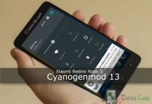 Cyanogenmod 13 ROM for Xiaomi Redmi Note 3
