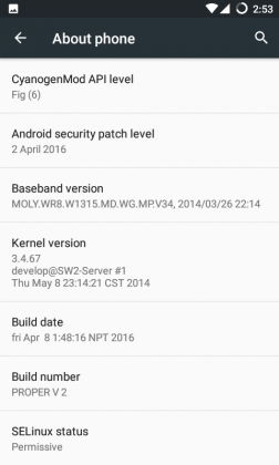 CM13 Android Marshmallow 6.0.1 ROM for Micromax Unite 2