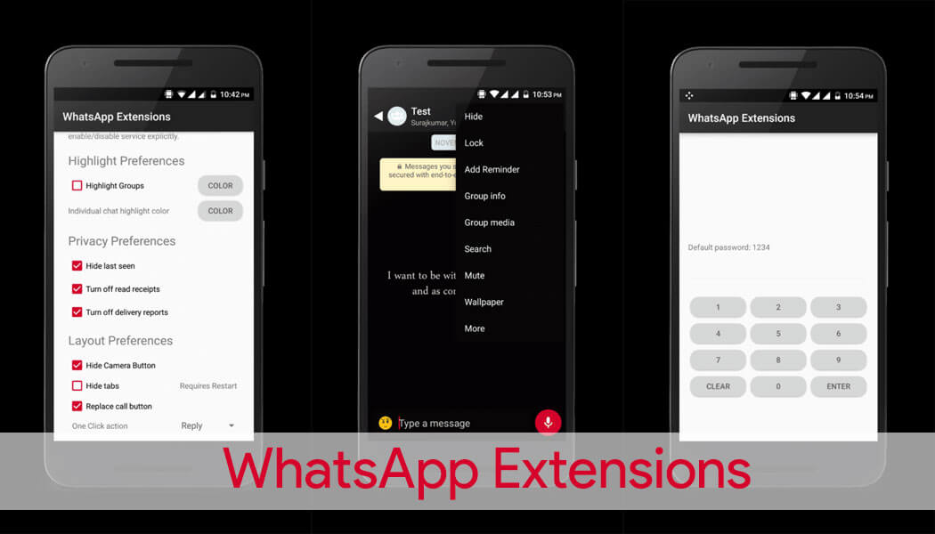 WhatsApp Extensions (Whatsapp Plus)