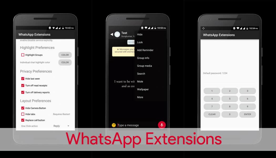WhatsApp Extensions (Whatsapp Plus)