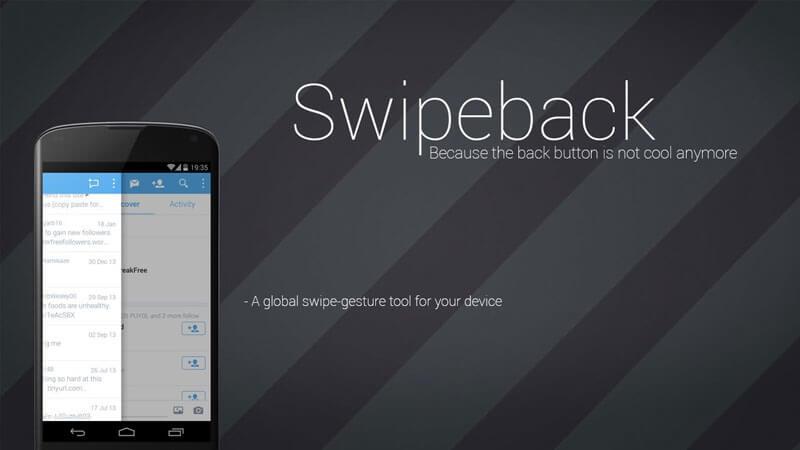 Xposed Module Swipeback