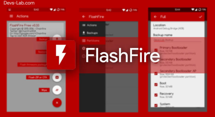 FlashFire Android App