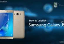 How to unbrick Samsung Galaxy J5 2016
