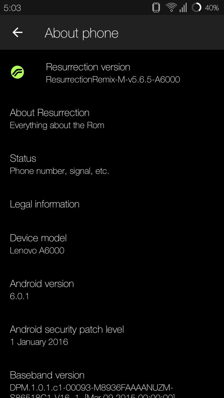 Top 10 best Custom ROMs for Lenovo A6000/Plus - DevsJournal