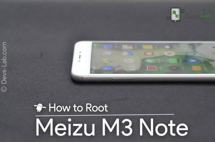 How to Root Meizu M3 Note without PC