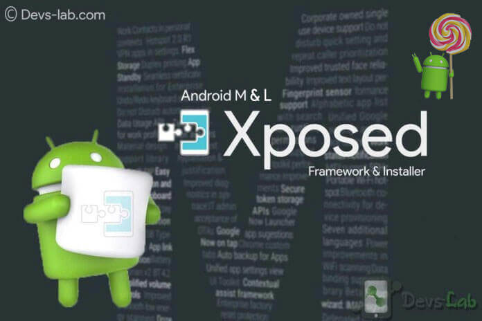 Android Xposed Framework and Installer for 5.0, 5.1, 6.0, 6.0.1
