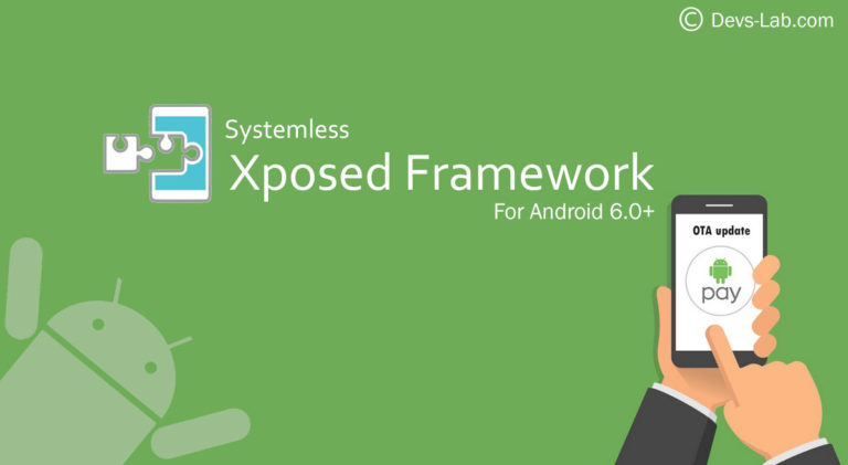 How to Install Systemless Xposed on Android to receive OTA updates.