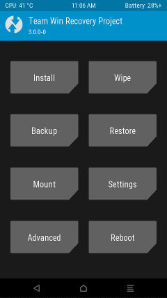 TWRP 3.0.0 Recovery Xiaomi Redmi Note 3