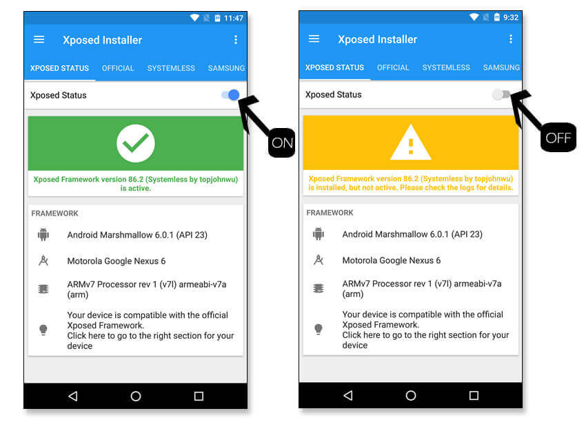 How to Install Systemless Xposed on Android to receive OTA