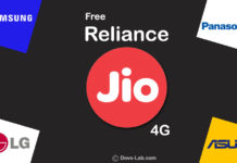 How to avail Reliance Jio preview offer on Asus and Panasonic, Samsung and LG devices