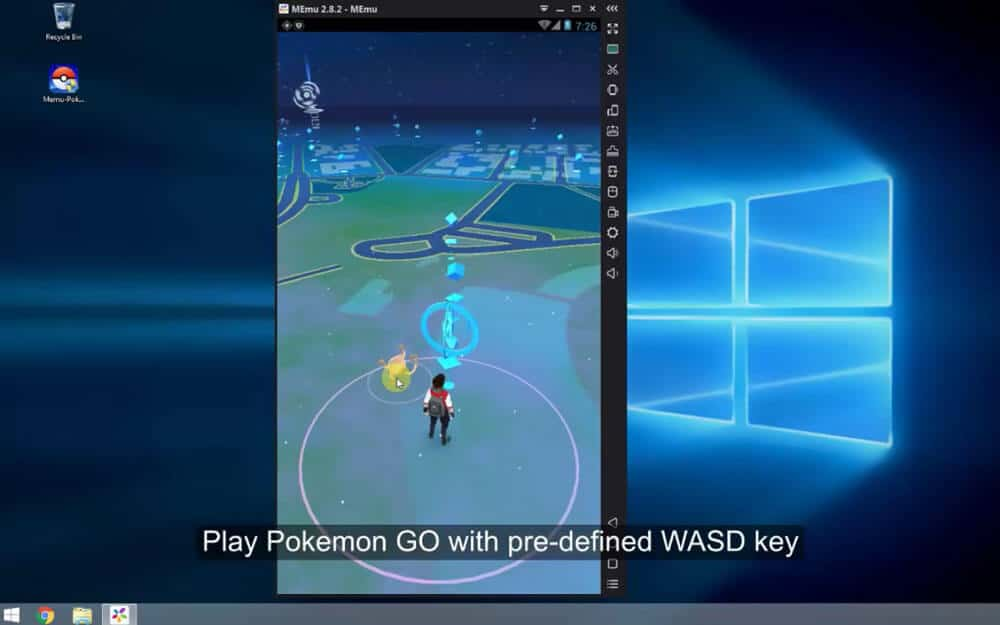 Latest] How to play Pokemon GO on PC using Arrow keys