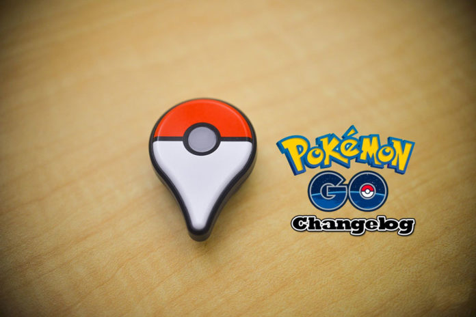 Pokemon GO new feature updates Changelog
