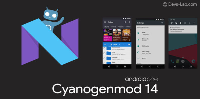 Cyanogenmod 14 Android N ROM for Android One sprout