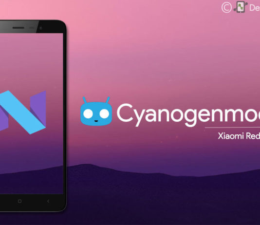 Cyanogenmod 14 Android Nougat N ROM for Xiaomi Redmi Note 3 kenzo