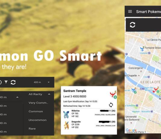 Pokemon GO Smart track Pokemons at any location