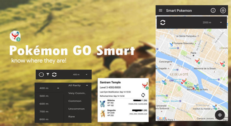 How to track all Pokemon at a particular location – Pokemon Go Smart