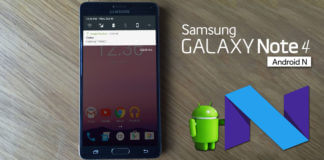 Android Nougat 7.0 update for Samsung Note 4