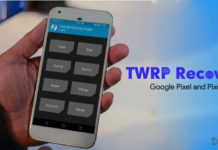Download TWRP Recovery for Google Pixel and Pixel XL