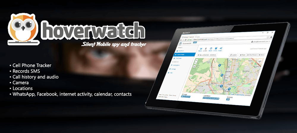 HoverWatch : Silent Mobile spy and tracker.