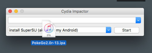 Installing Pokemon GO++ using Cydia Impactor