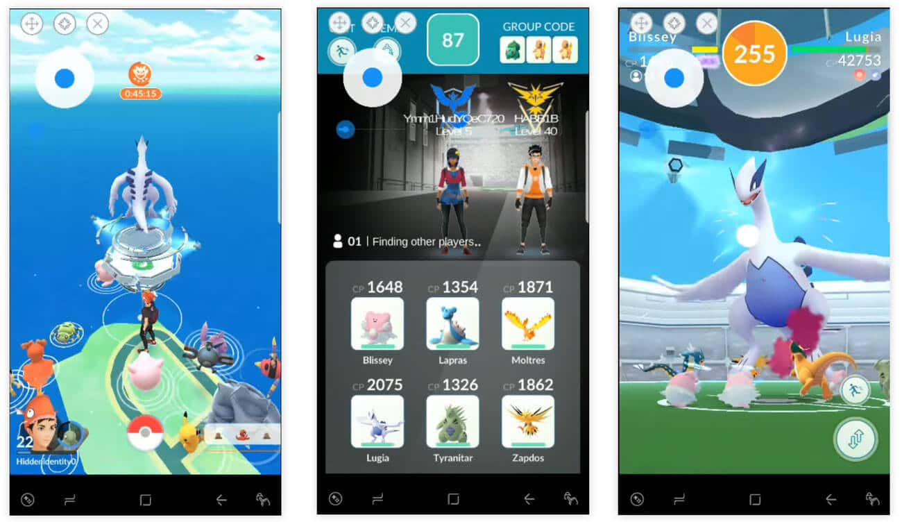 Pokemon GO Fake GPS Hack Gym Raid Battles Latest Working