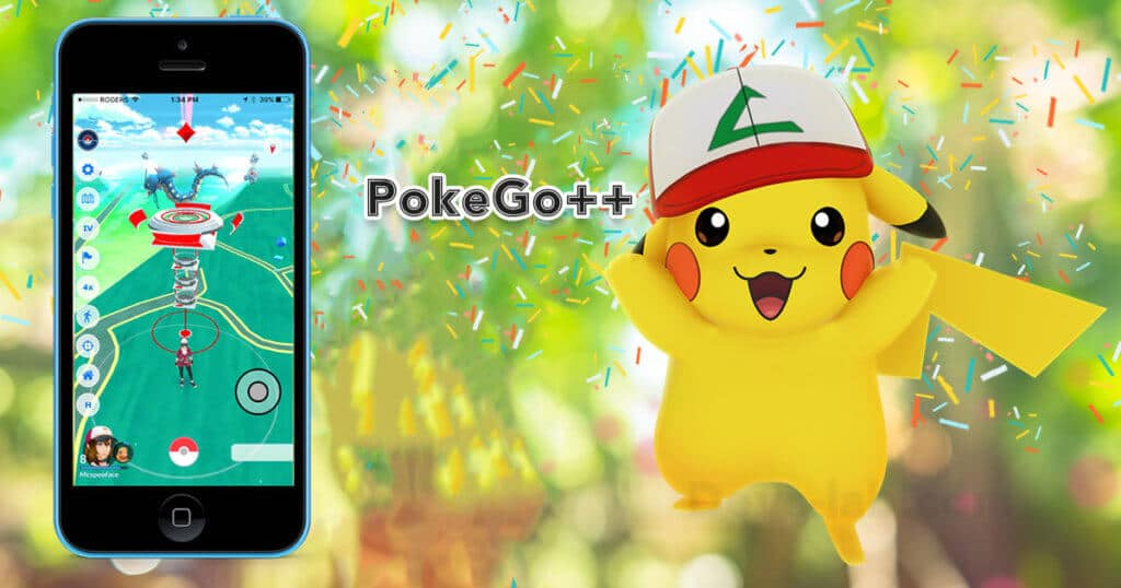 Pokemon GO iOS Hack PokeGo++ 2.0 Joystick download