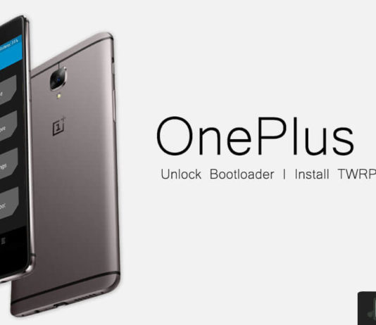 How to unlock Bootloader install TWRP and root OnePlus 3T