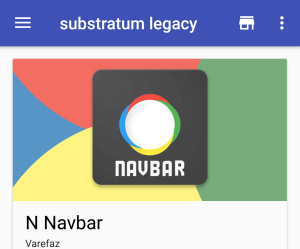 Theme Stock Android using Substratum