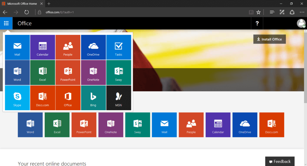 How to use Microsoft Office Online for free