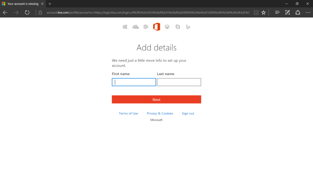 how to add a product to microsoft account