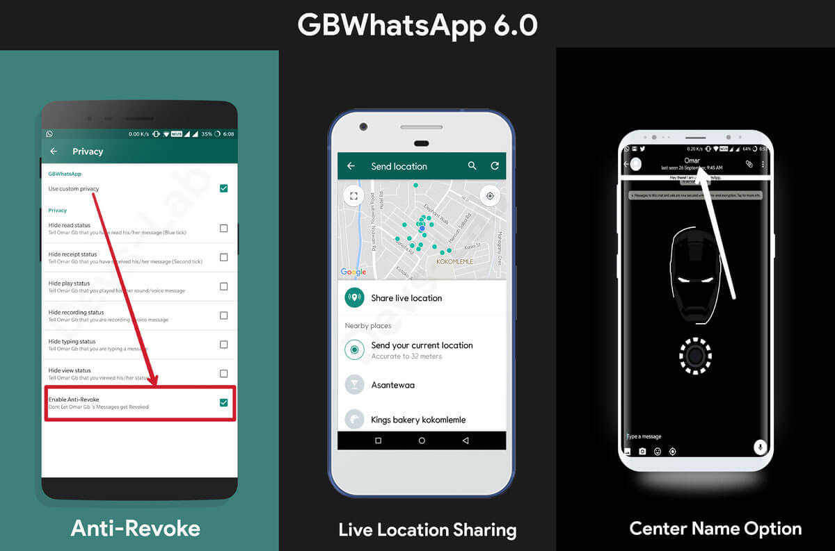 GBWhatsApp 6.0 Features