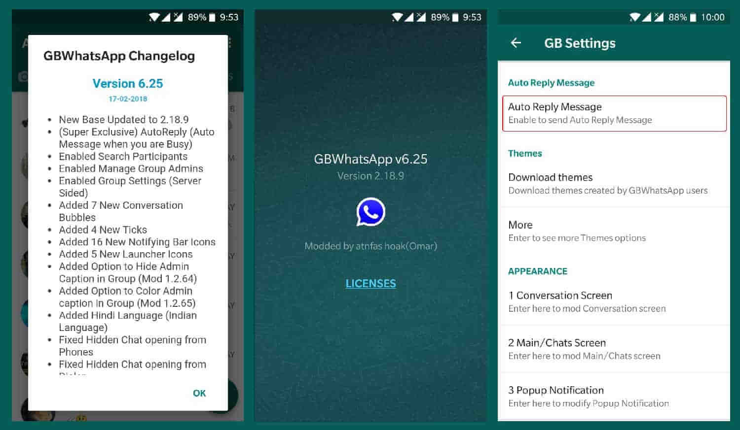 GBWhatsApp 6.25 APK Update Changelog Download for Android