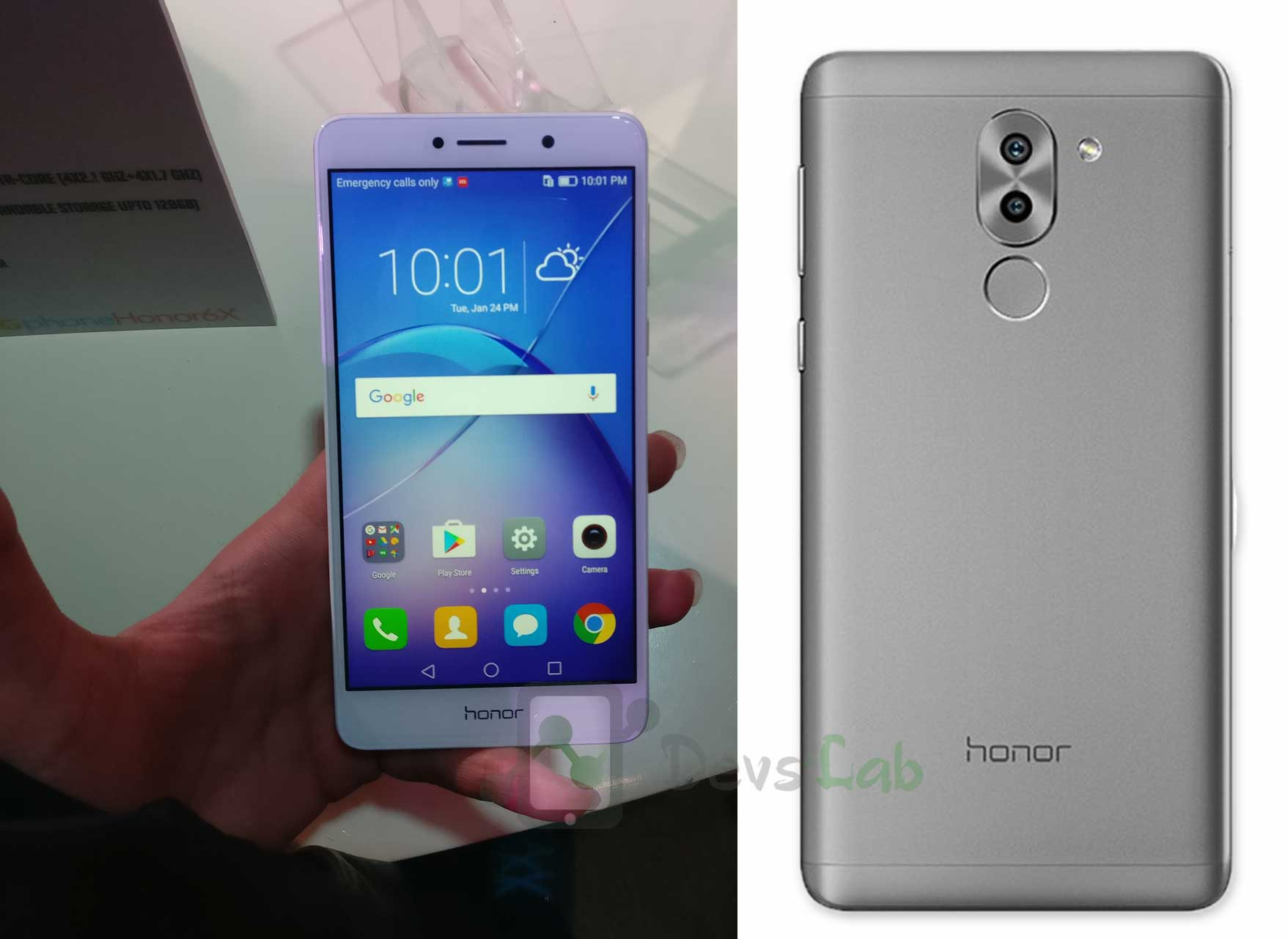 Honor 6X Design Review