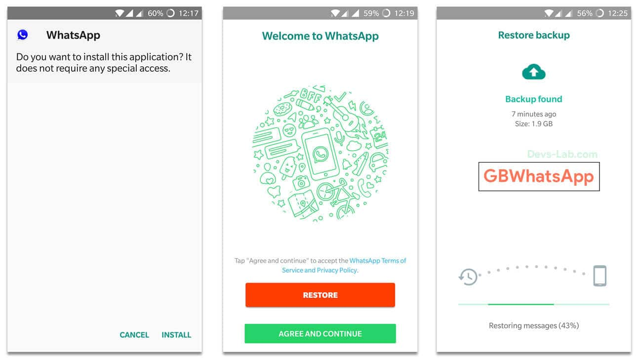 Download GBWhatsApp APK 7 20 (August 19) - DevsJournal