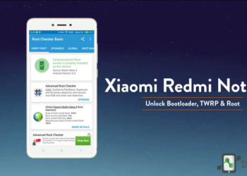 How to Root Xiaomi Redmi Note 4 - Install TWRP unlock Bootloader