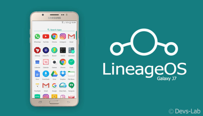 How To Install Lineageos 14 1 On Samsung Galaxy J7 Sm