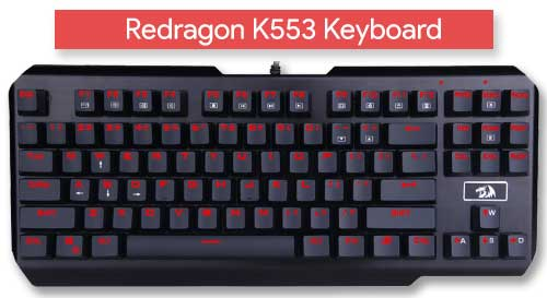 Redragon K553 Keyboard Review