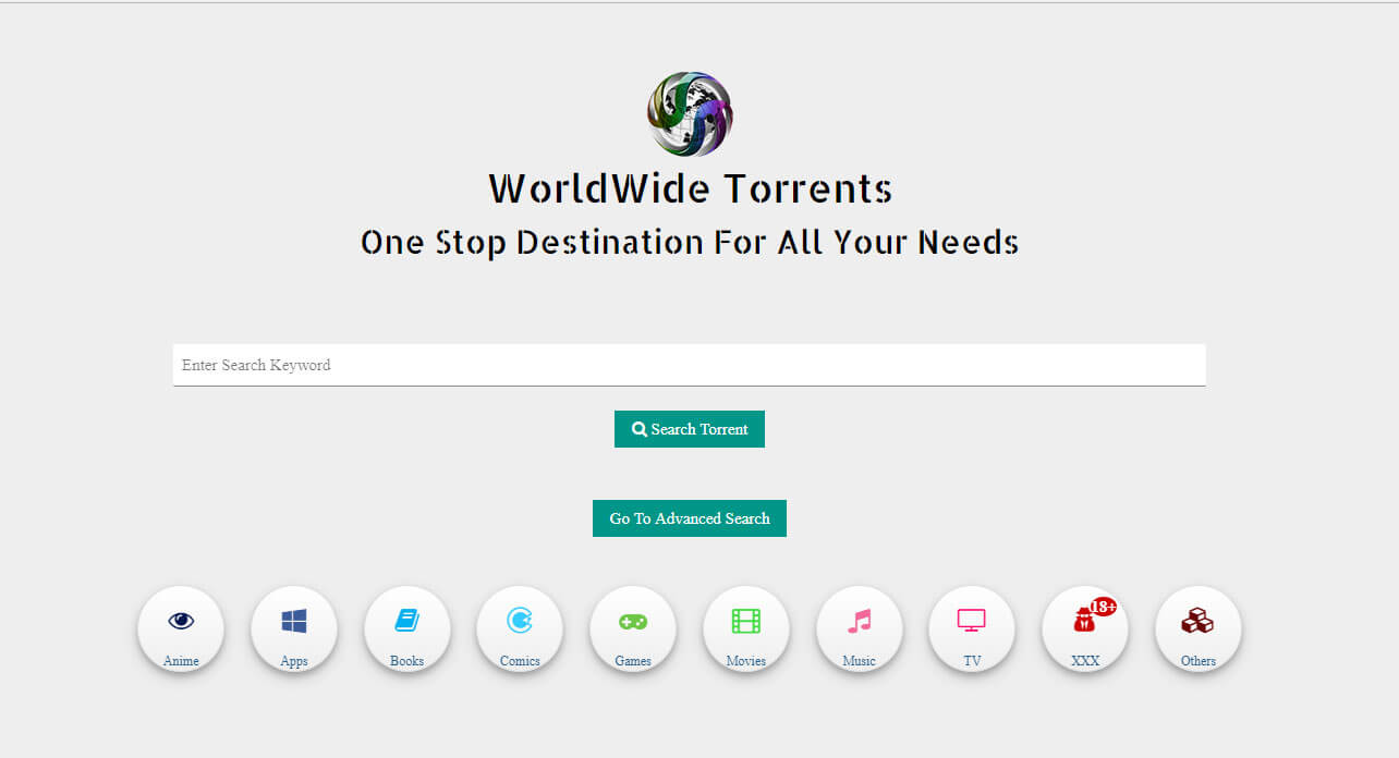 WorldWide Torrents Search Engine 2017