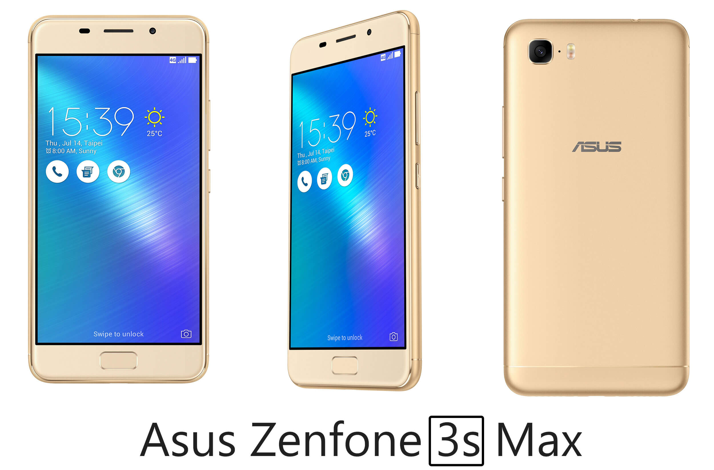 Asus Zenfone 3S Max Design and Display