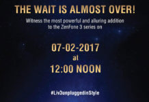 Asus Zenfone 3S Max Media invites of 7th feb