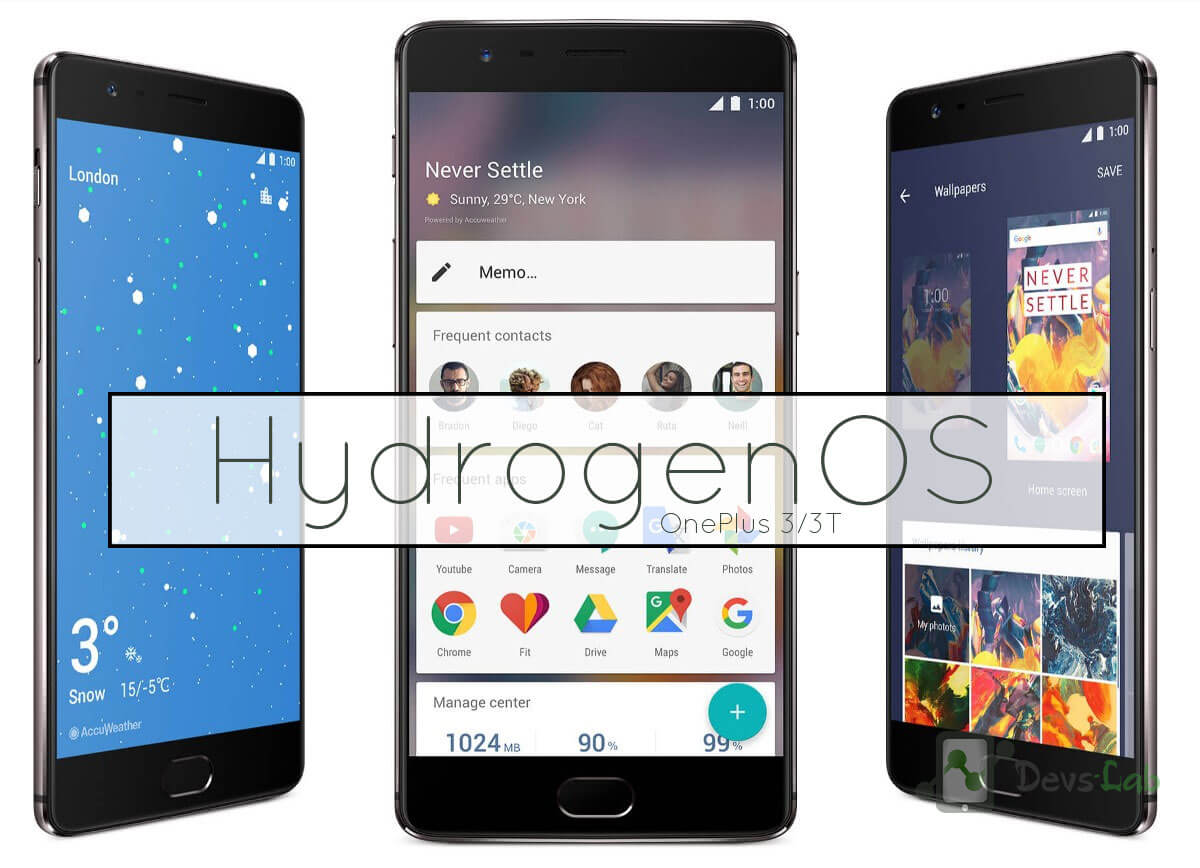 Download Hydrogen OS for OnePlus 3 and 3T