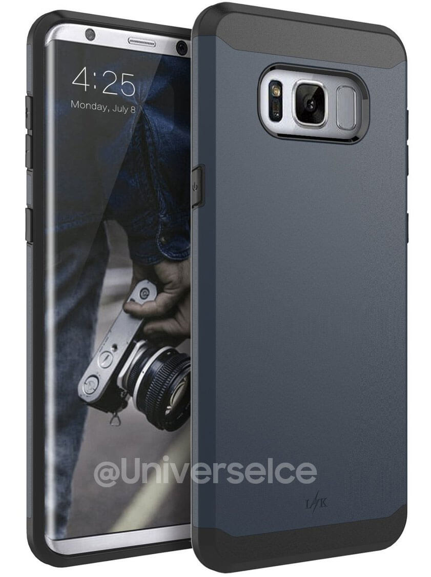 Samsung Galaxy S8 Cases Leaked online