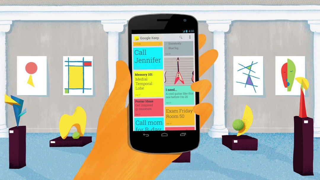 Google Keep - Apps to increase Productivity