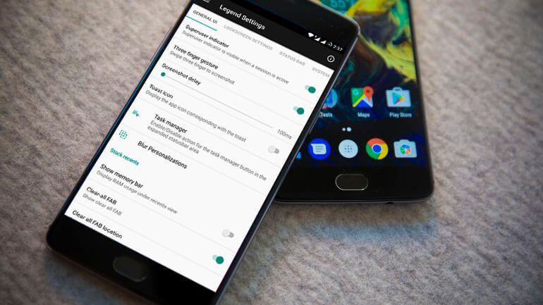 Legend ROM for OnePlus 3T - Best ROMs for OnePlus 3T